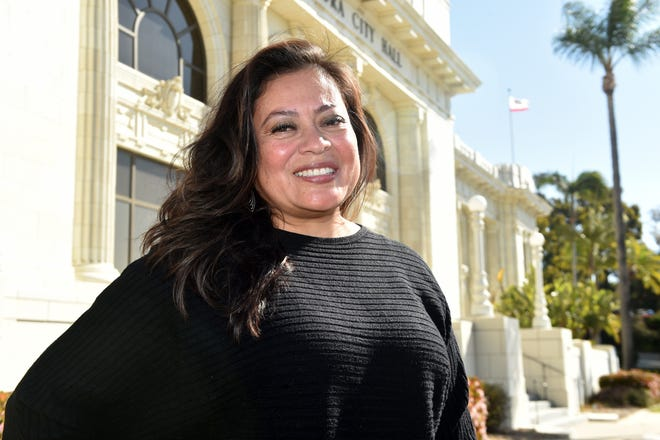 Jeannette Sanchez-Palacios was appointed in February to the Ventura County City Council seat vacated by Ventura County District Attorney Erik Nasarenko.