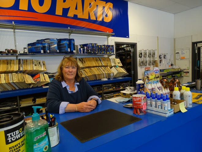 An independent owner of three area Napa Auto Parts stores, Kelly Moore said her business success story is similar to that of many entrepreneurs in the region: A large portion of her sales come from loyal clients somehow connected to the natural gas industry.