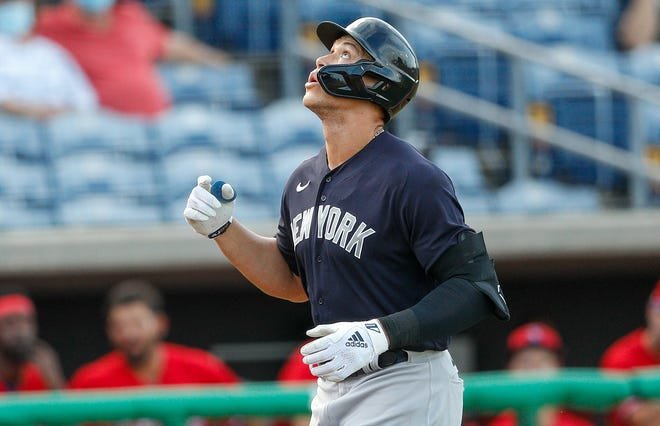 Aaron Judge hit 52 home runs as a rookie in 2017.