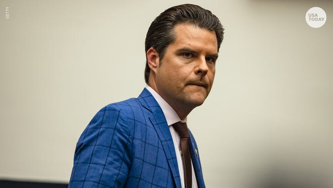The Justice Department is reportedly investigating Republican Rep. Matt Gaetz of Florida over a sexual relationship with a 17-year-old girl.