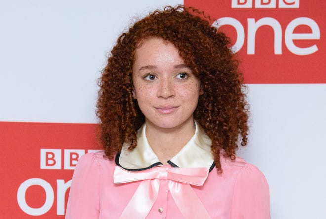 """Erin Kellyman has masked up as the newest Marvel villain in """"The Falcon and the Winter Soldier."""""""