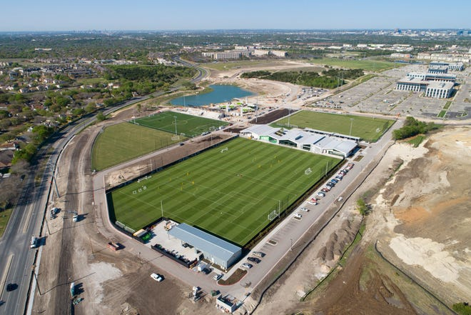 Austin FC lost to the Houston Dynamo in the first match of the La Copita preseason tournament Saturday at the St. David's Performance Center. The club will travel to play FC Dallas on Wednesday.