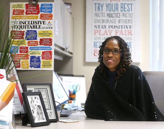 Carla Chapman recently was appointed the chief diversity officer for Akron Public Schools.
