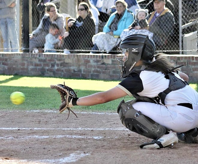 Leesville catcher Mackenzie Waldrop had a pair of hits and two runs scored in the Lady Cats' win over Oak Hill on Tuesday.