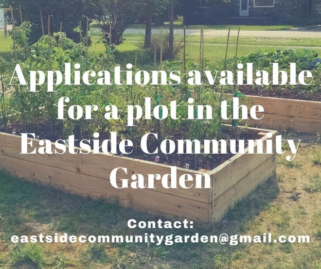 The East Side Garden Club is currently accepting applications for people in the community who want to plant and tend a garden on the city's east side.