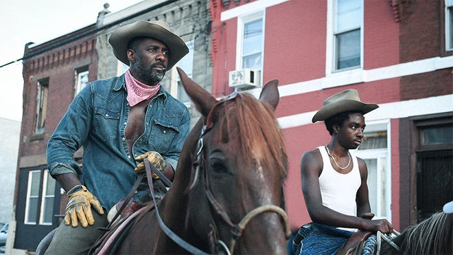 "Idris Elba in ""Concrete Cowboy"""