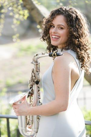 Saxophonist Alexa Tarantino