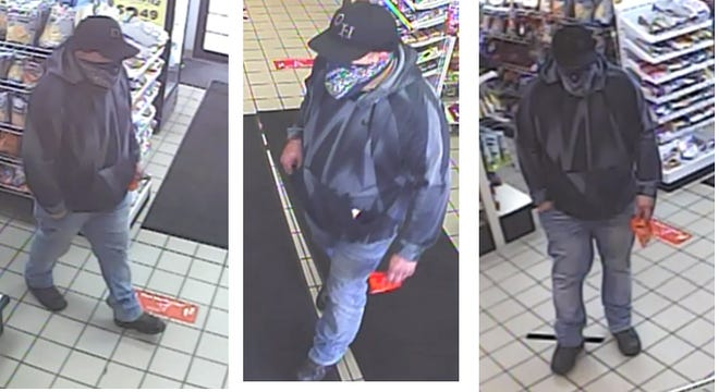 Central Ohio Crime Stoppers is offering a cash reward for information leading to the arrest of a man who robbed a Dublin gas station at gunpoint.