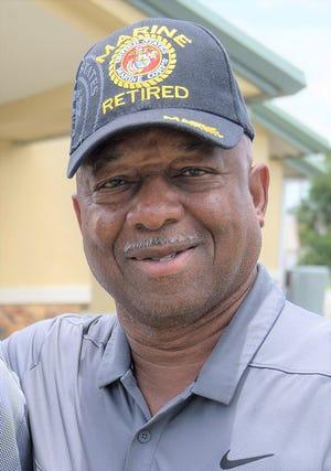 Eustis-reared Marine Sgt. Maj. Robert Benn, a Vietnam veteran and 3-tour Parris Island drill instructor.