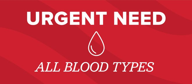 Blood donations have reached a historic low.