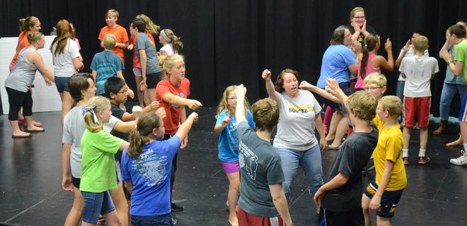 """Led by Hesston College Theatre director and professor, Rachel Jantzi, the summer theatre camp,  will  combine middle and high school-age students for a two-week camp in which participants will prepare and produce the musical """"The Jungle Book/"""""""