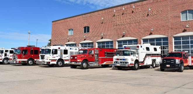 Mid County vehicle fleet.