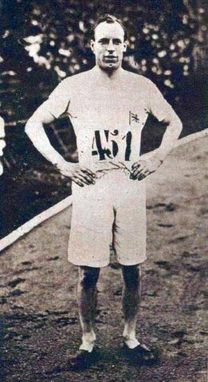 """Olympic athlete and subject of the 1981 Oscar-winning film """"Chariots of Fire,"""" Eric Liddell made his evangelical debut by speaking to a group of men in Armdale, Scotland, on behalf of the Glasgow Students' Evangelistic Union in 1932."""