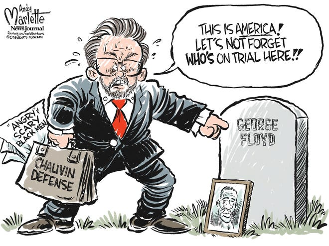 An Andy Marlette case about the Chauvin trial