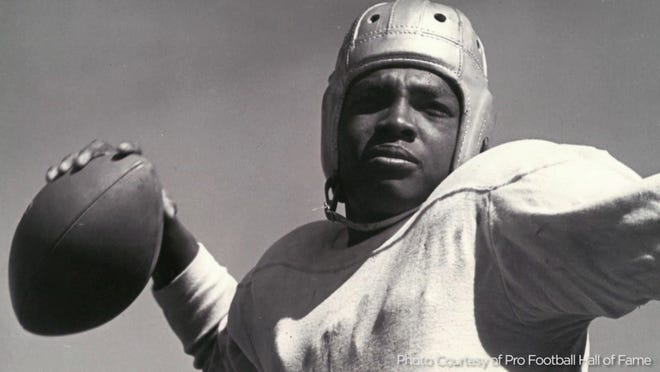 Wally Triplett broke color barriers in college and professional football and his life is the subject of a film, which is still in the developmental stages.