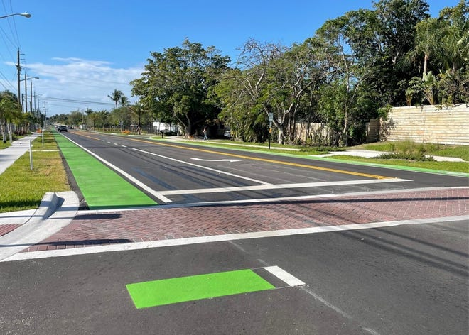 More than 10 years in the making, the city showed off its new dedicated bike lane along NE 2nd Avenue from NE 13th Street to NE 22nd Street.