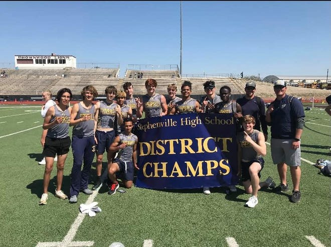 Stephenville High School boys and girls track were named district champs.