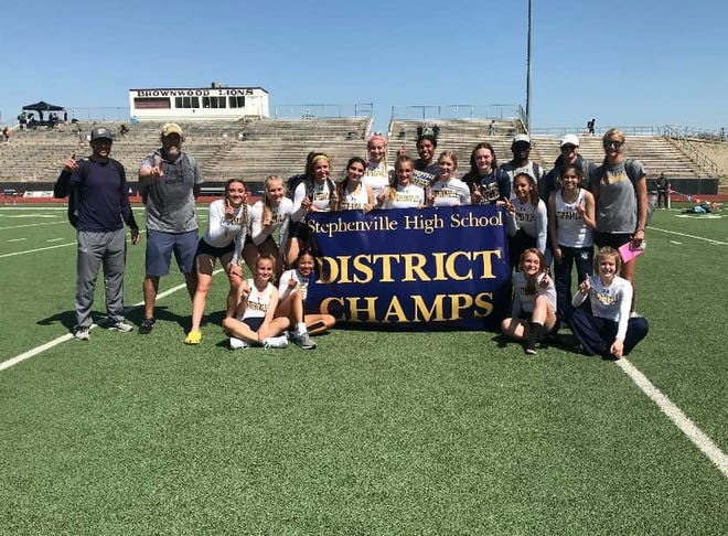 Stephenville High School boys and girls' track were named district champs.