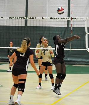 GNB Voc-Tech's Lilly Misay keeps an eye on the ball in 2019.