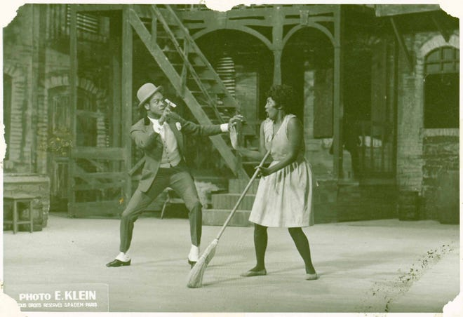 """A scene from """"Porgy and Bess."""""""
