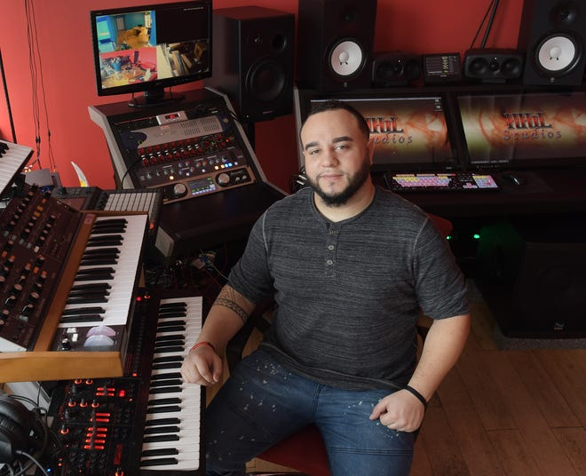 Dante Babb is the owner of HHiL recording studio in Worcester.