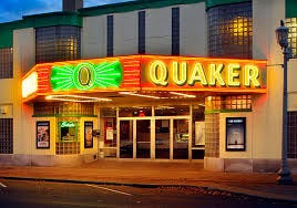 After being closed for more than a year, the Quaker Cinema will reopen tonight.