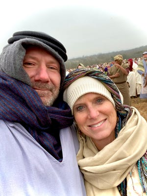 """Dover's Dan and Carol Miller will be extras in """"The Chosen,"""" a movie about the life of Jesus told through the eyes of his friends and followers."""
