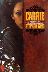 """The cover of the novel """"Carrie"""" by Stephen King."""