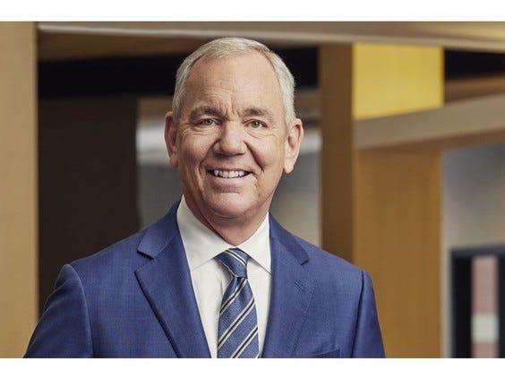 Retiring Cintas Chairman and CEO Scott Farmer
