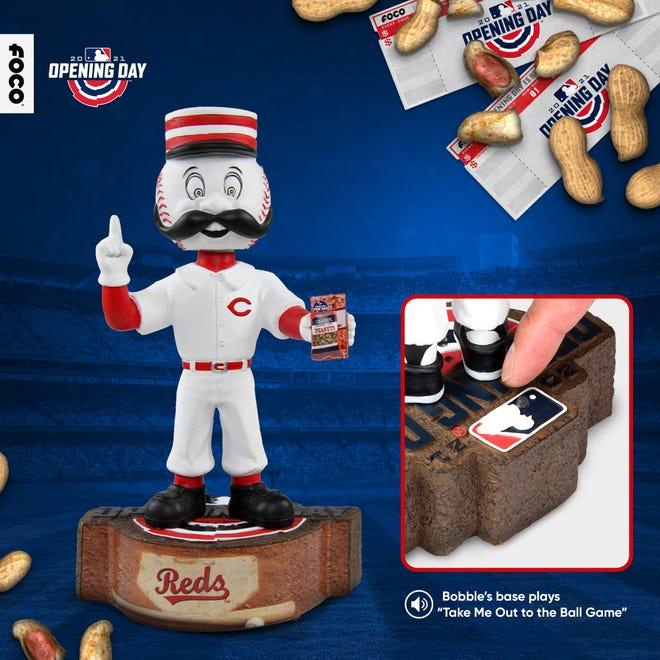 Cincinnati Reds Mascot Opening Day Bobblehead