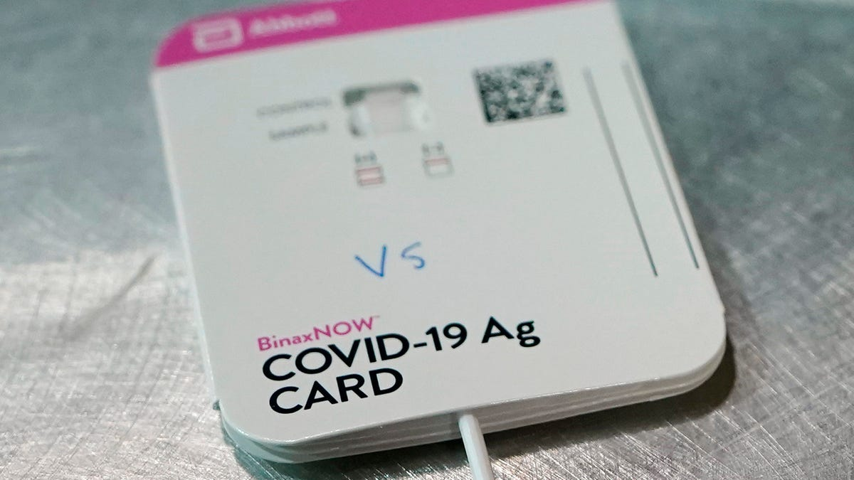 US allows 2 more over-the-counter COVID-19 home tests 1