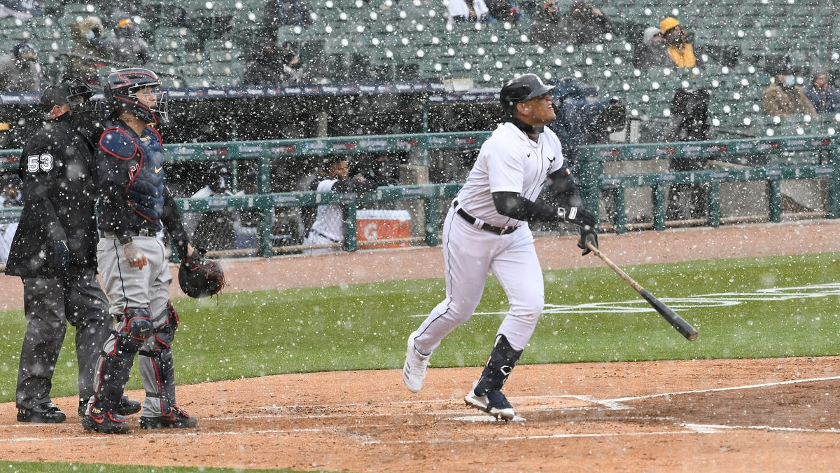 Let it snow, let it go! Tigers' Miguel Cabrera belts 488th career homer 2