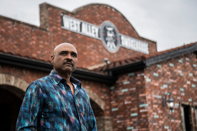 Bardo Brantley, 57, co-owner of West Alley BBQ, opened the restaurant in 2013 and in 2016 they became a part of the second chance program, in the hopes of providing a second chance for people coming out of incarceration.