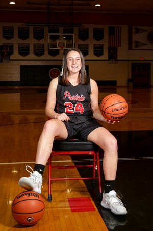 Clinton Prairie's Tynlie Neal is the 2021 Journal & Courier Small School Girls Basketball Player of the Year.