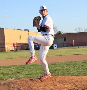 Liberty Union's Jacob Miller is one of the top-rated pitchers in the country, and even though he is only a junior, he has already caught the attention of Major League Baseball scouts, thanks to a 93 mph fastball.