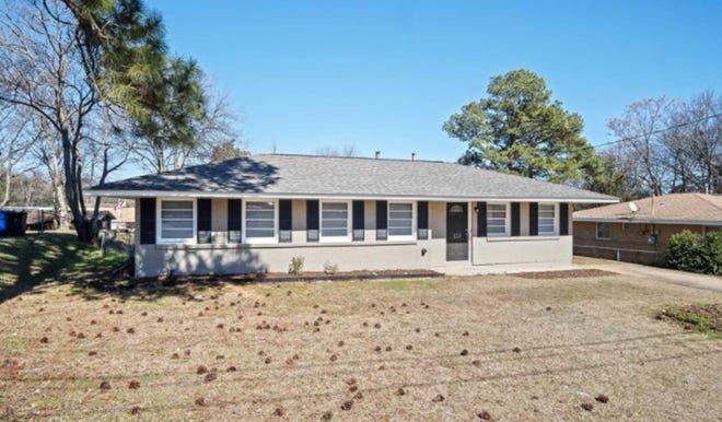 One Crestview Heights home at 150 North Nichols St. in Prattville has been beautifully renovated and is for sale for $168,000. The design includes four bedrooms and two bathrooms within 1,650 square feet of living space.