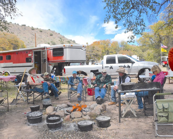 There's something special about getting together outdoors for a Dutch oven meal like those on tap at the Dutch Oven Gathering in Glenwood April 10.