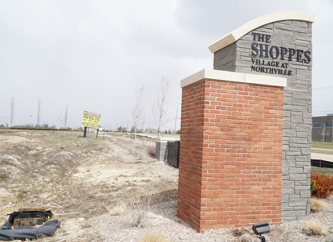 Some changes to the proposed businesses are planned at The Shoppes of the Village At Northville near Five Mile and Beck.