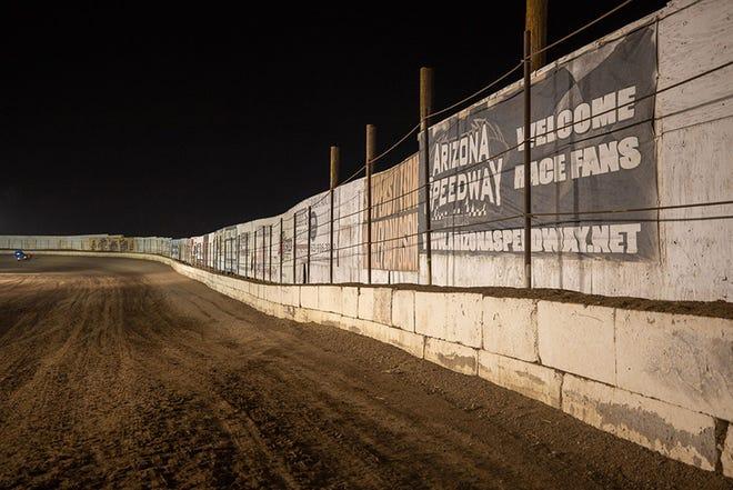 The Arizona Speedway racetrack on March 27, 2021, at Arizona Speedway in San Tan Valley, Ariz.