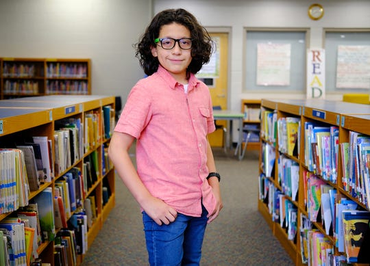 Dereck Baca of Duncan Chapel Elementary