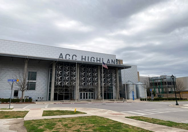 The Highland campus of Austin Community College in Texas. Success rates dropped during the fall in dual enrollment courses offered by the college when students withdrew more often than usual.