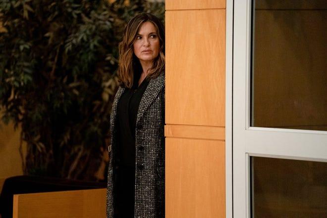 "Mariska Hargitay as Captain Olivia Benson in ""Law & Order: Organized Crime."""