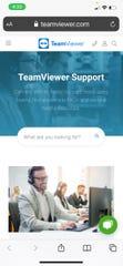A screenshot of the app TeamViewer.