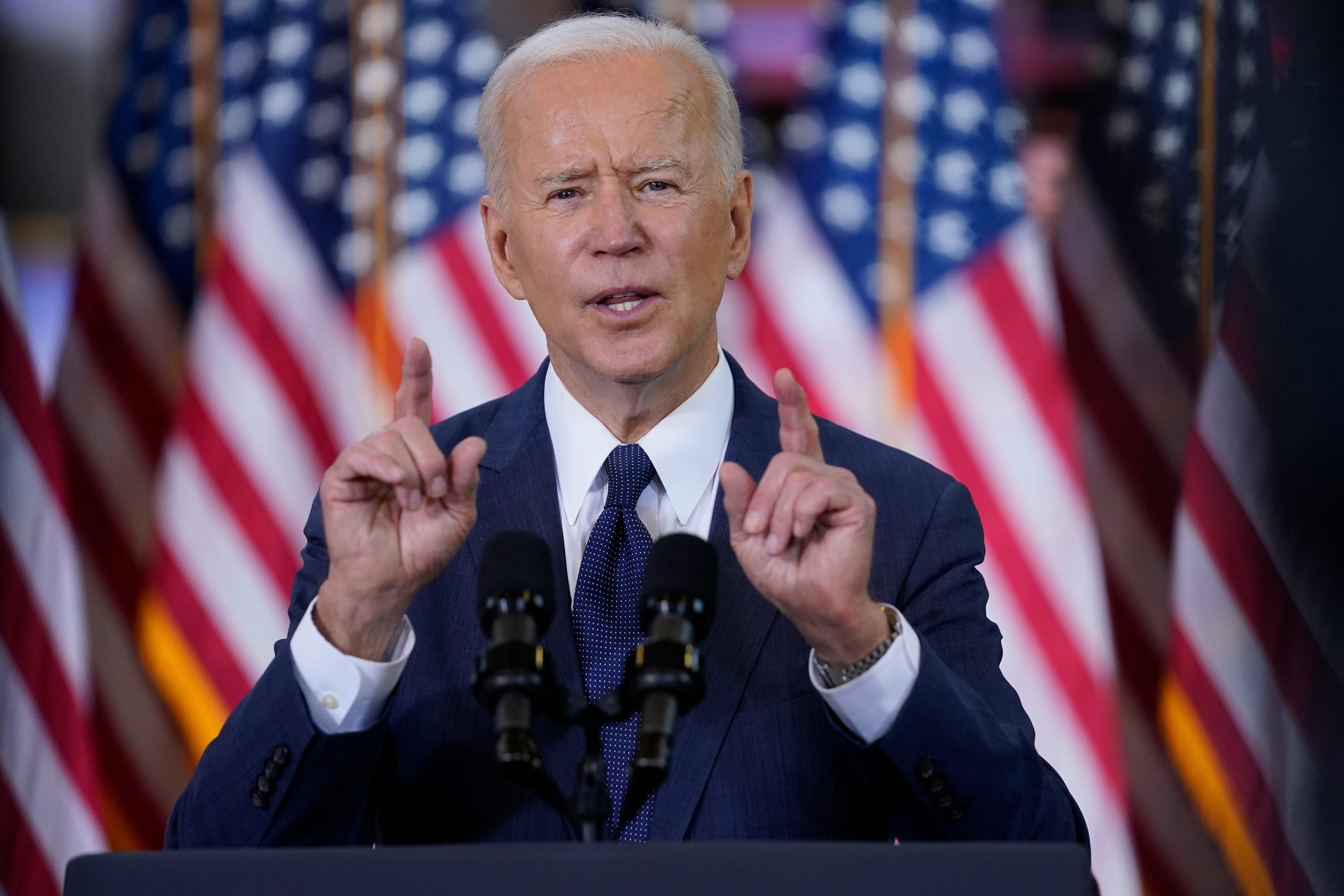 President Joe Biden says he would  strong support  moving the MLB All-Star Game out of Atlanta