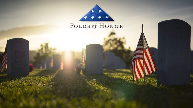 Folds of Honor is a nonprofit organization that aims to raiseeducationalfunds forchildren and spouseswho hadservicemembers in the military that were killed or disabled in combat.
