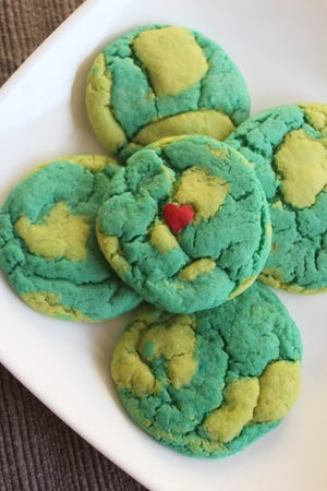 Easy to make and adorable, these cake mix cookies are the perfect treat to celebrate Earth Day.
