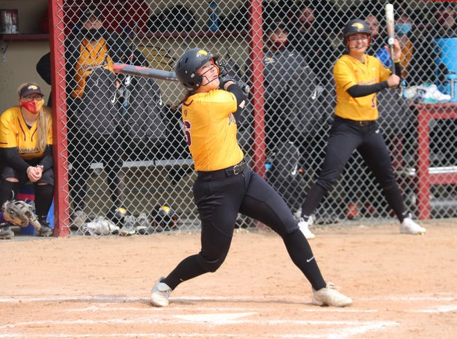 Dana Zarn homered in the second game of Minnesota Crookston's doubleheader at Minnesota Duluth on Tuesday.