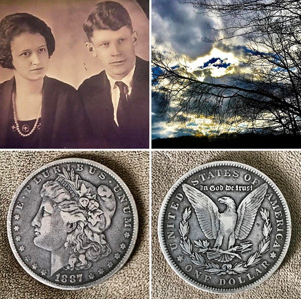 Winfield Bonham Edwards and Jane Spangenburg Edwards, my grandparents … alive in my heart and in my memory thanks to the stories they told and the love they shared.