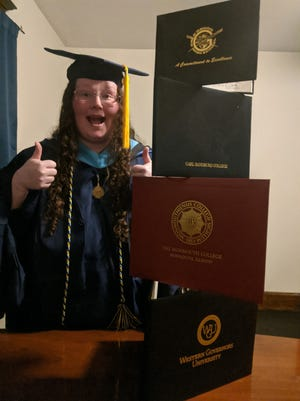 Heather Grubb, of Galesburg, graduated from Western Governors University with a Master of Arts in mathematics education, secondary.