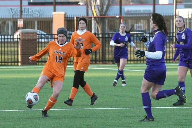 Hope College women's soccer